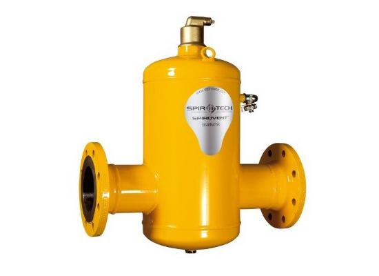 Air dirt separator sole distributer of spirotech